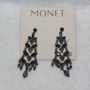 NEW Monet Dangle Drop Pierced Earrings